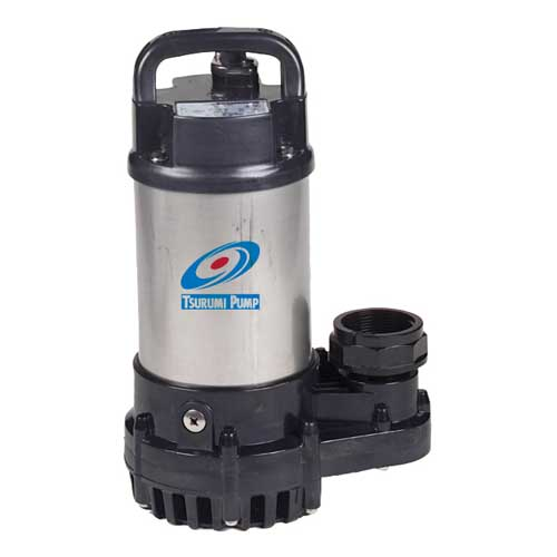 Tsurumi submersible pond pump mpn 2om best prices on for Best water pump for pond