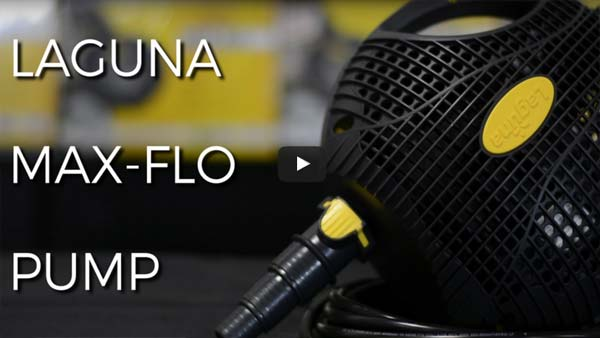 Review: Laguna Max Flo Waterfall and Filter Pump