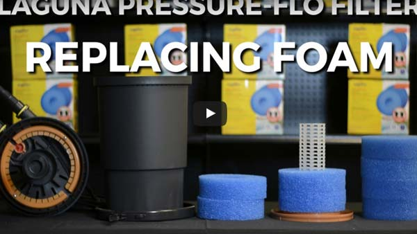 How To: Replace Foam Filters in a Laguna Pressure Flo Filter