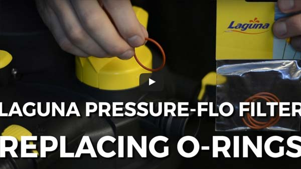 How To: Replace O-Rings in a Laguna Pressure Flo Filter