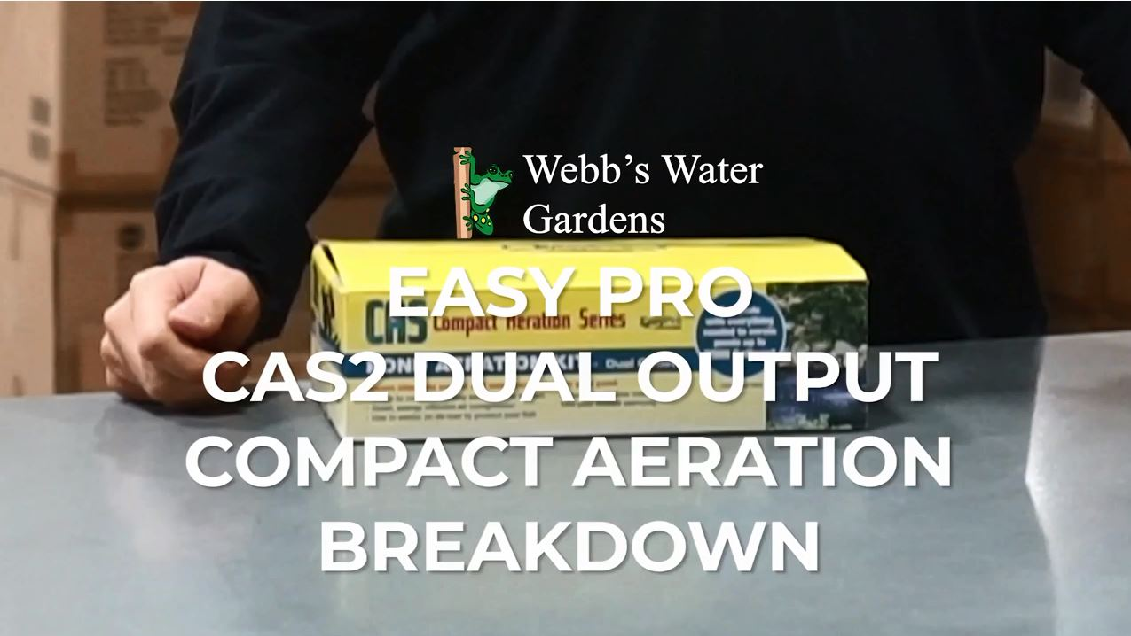 EasyPro CAS2 Dual Output Compact Aeration Kit - Breakdown