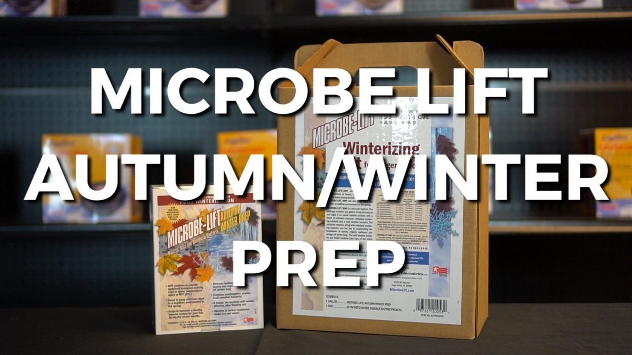 Microbe Lift Autumn Winter Prep Review