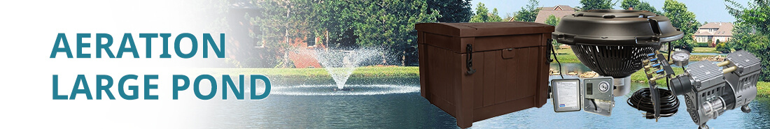 Cat large pond aeration