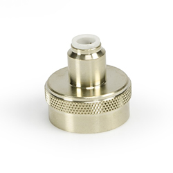 "Aquascape Fill Valve Spigot Connector 1/4"" Poly"