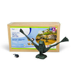 Aquascape Crazy Legs Frog Fountain w/pump