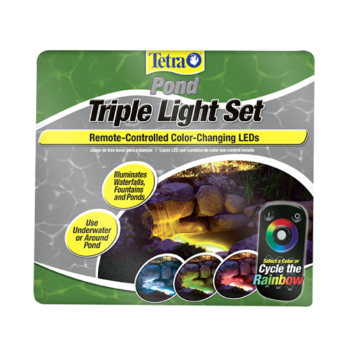 Tetra Color Changing Triple Light Set w/Remote