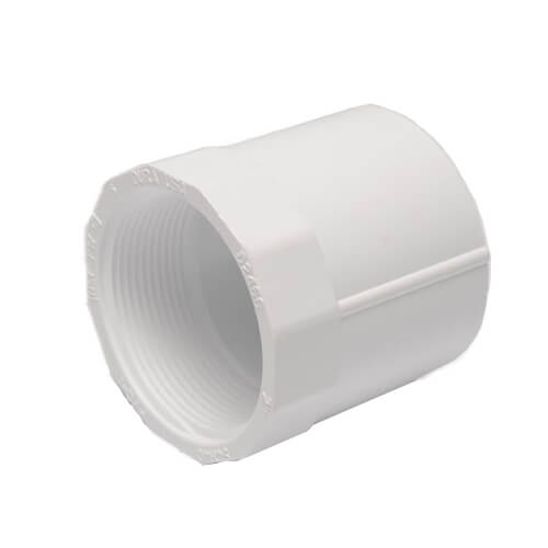 Dura Schedule 40 PVC Female Adapter Fittings (Slip x FIPT)