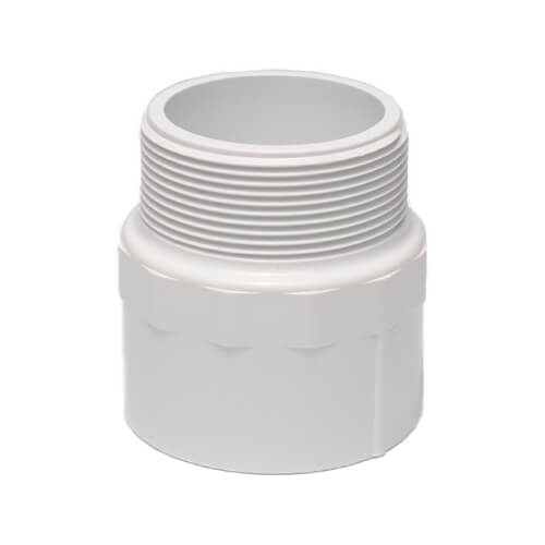 Dura Schedule 40 PVC Male Adapter (MIPT x Slip)