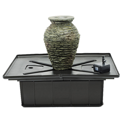 Aquascape Stacked Slate Urn - Mini Kit
