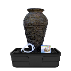 Aquascape Medium Slate Urn Fountain Kit