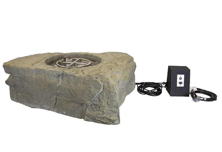 Aquascape Faux Stone Fire Pit