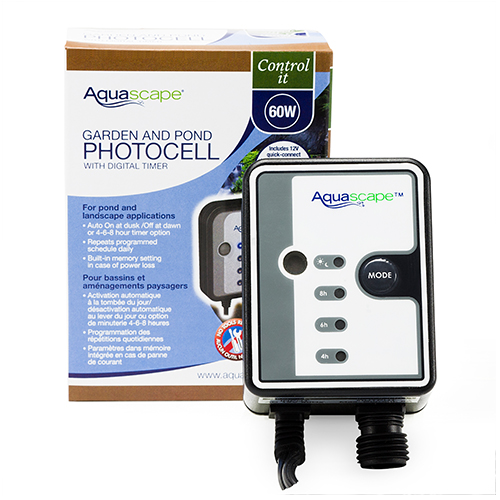 Aquascape 12 Volt Photocell with Digital Timer