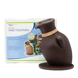 Aquascape European Terra Cotta Leaning Vase Fountain