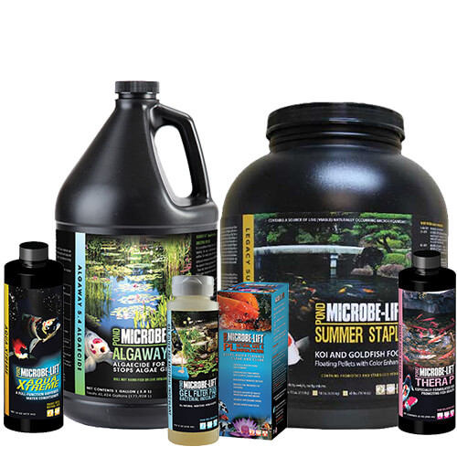 Microbe Lift PL, Beneficial Bacteria, Algae Control, Pond Autumn Prep