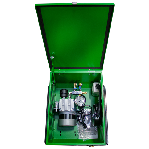 Matala Lake Aeration Compressor with Cabinet