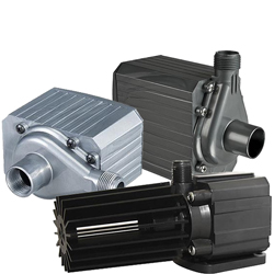 PondMaster Mag-Drive Pumps with Free Impeller