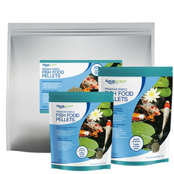 Aquascape Premium Staple Fish Food - Mixed Pellets