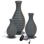 Atlantic Color Changing Fountain Vases
