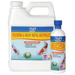 API Pond Chlorine and Heavy Metal Neutralizer