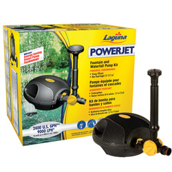 Laguna Next Generation Powerjet Fountain Pump Kit