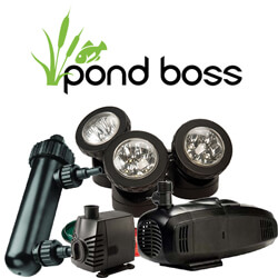 ALL POND BOSS PRODUCTS