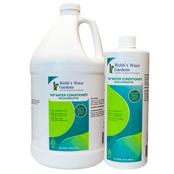 Webb's Water Gardens Tap Water Conditioner Dechlorinator