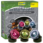 Tetra Low Voltage Triple Light Set