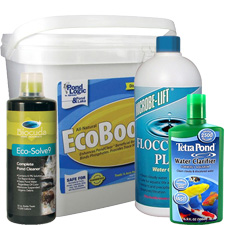 Pond Water Clarity, Water Garden Clarifiers, Quickly Clears Pond Water