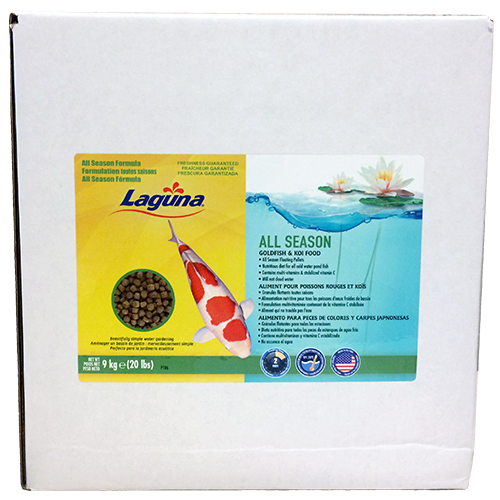 Laguna All Season Goldfish / Koi Floating Food 20 lbs (MPN PT86)