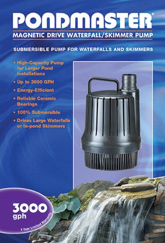 PondMaster Waterfall Pump 3000 GPH (MPN 02660)