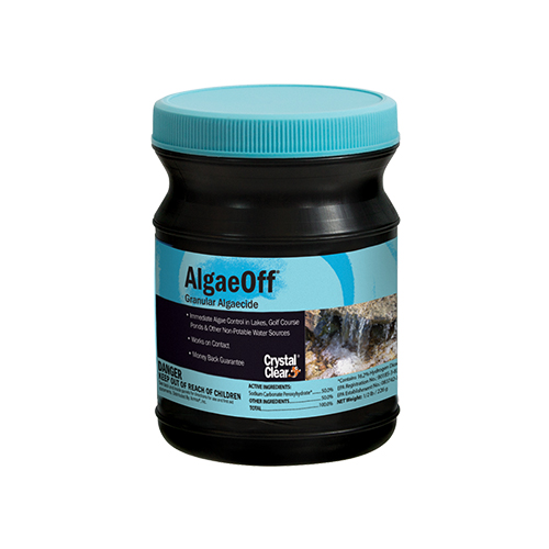 how to clean algea off wood