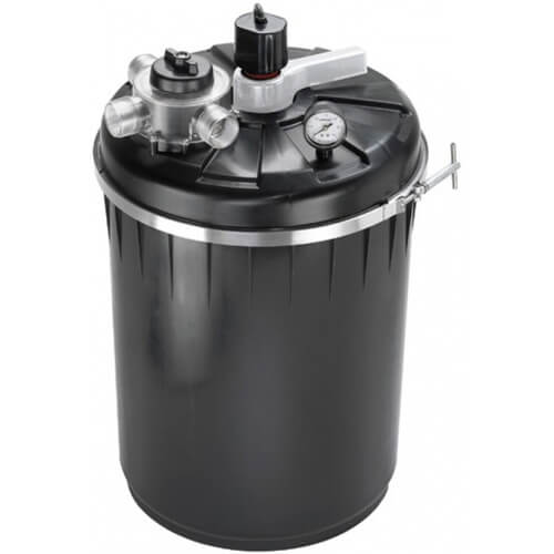 Pondmaster biomatrix puv 4000 pressurized filter 40w uv for Best pond pressure filter