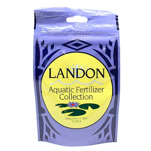 Plantabbs Landon Aquatic Fertilizer Collection Formula 7803 2 oz. Packet 12-20-8 (MPN 1182)