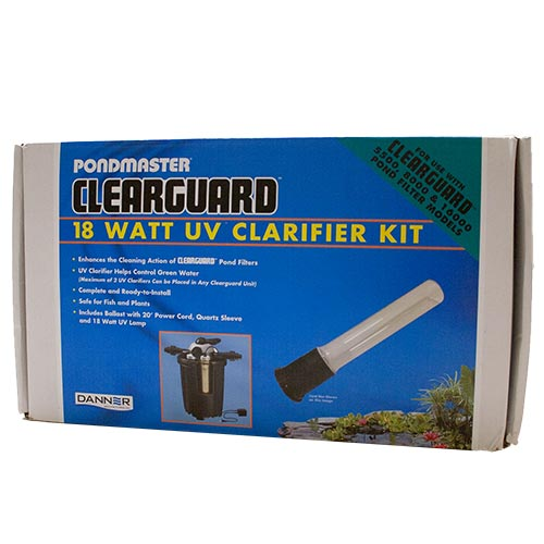 NEW Pondmaster Clearguard 18W UV Conversion Kit - 4 pin bulb (MPN 15820)