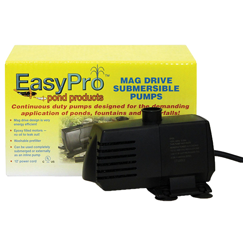 EasyPro Submersible Magnetic Drive Pump 400 GPH (MPN EP400)