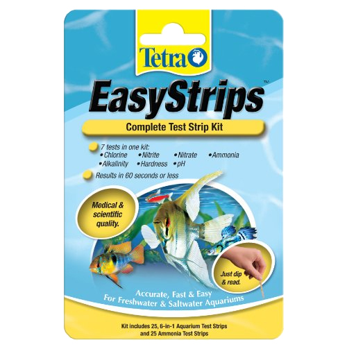 Tetra EasyStrips Complete Test Strip Kit - 25 ct (MPN 19544)