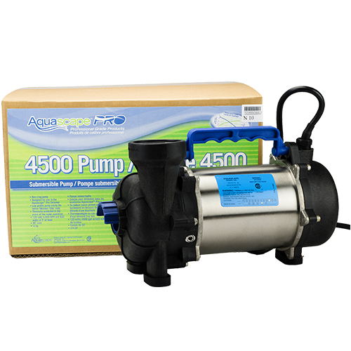 Aquascapepro 4500 pump mpn 20003 best prices on for Best water pump for pond