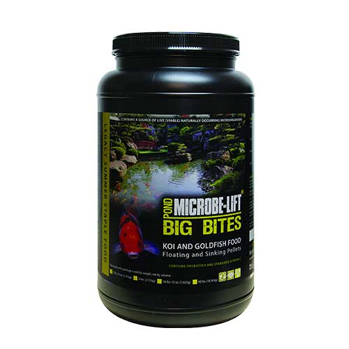 Microbe-Lift Big Bites Fish Food 2 lb 12 oz (MPN MLLBBMD)
