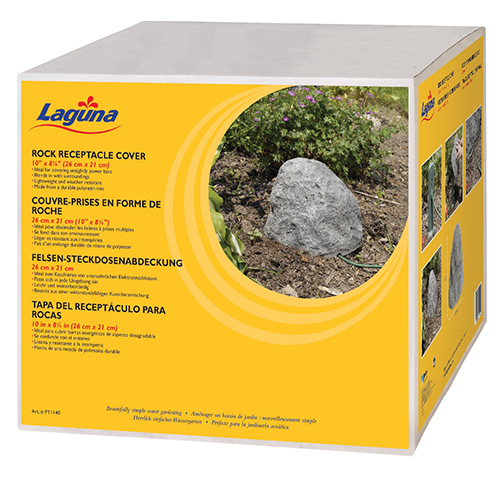Laguna Small Rock Receptacle Cover Mpn Pt1140