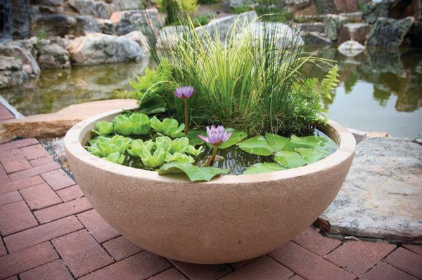 "Aquascape Desert Granite Patio Pond 32"" (MPN 98857)"