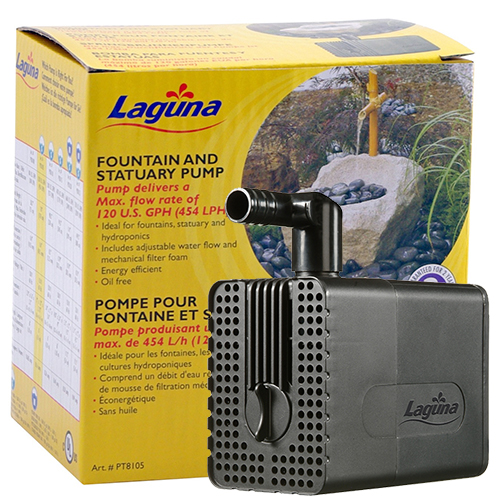 Laguna Fountain and Statuary Pump 120 GPH (MPN PT8105)