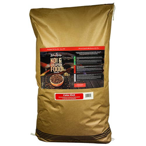 Blue Ridge Floating Color Rich Fish Food 50 lbs