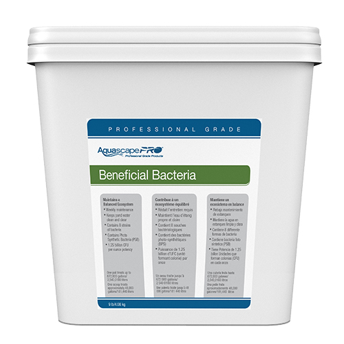 AquascapePRO Beneficial Bacteria for Ponds 9 lbs (MPN 30407)