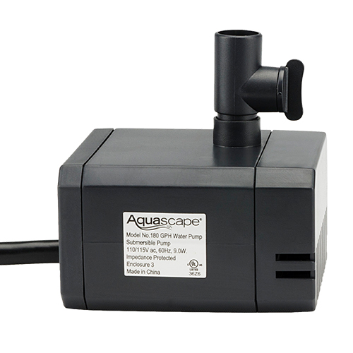 Aquascape 180 GPH Statuary & Fountain Pump (MPN 91025)
