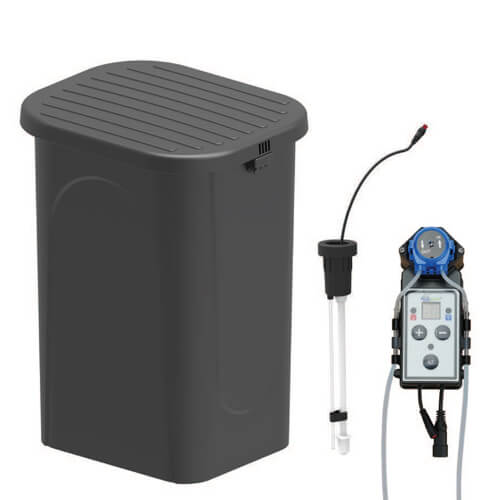 "EasyPro Eco-Series 40"" lightweight basin with bench grating (MPN FBL40)"