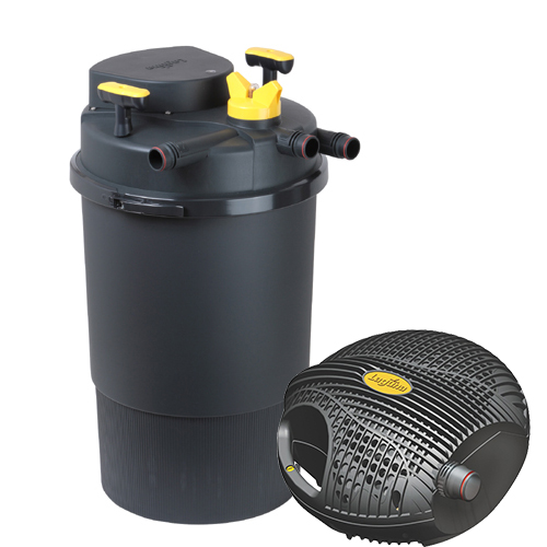 Laguna clearflo 4000 uvc filter kit mpn pt1744 best for Best pond filter media