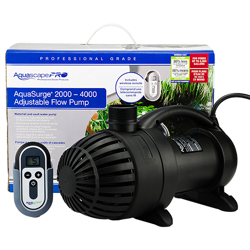 Aquascape Pro: Aquascape AquaSurge PRO 2000-4000 (MPN 45009)