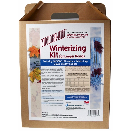 Microbe-Lift Autumn Winter Prep/Winterizing Kit (MPN AUTPREPGK)
