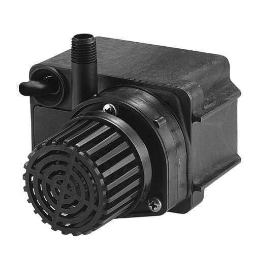 Little giant pe 2f pw 300 gph pond pump mpn 566611 for Best pump for a small pond