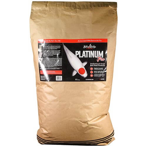 Blue Ridge Platinum Pro Fish Food 50 lb.
